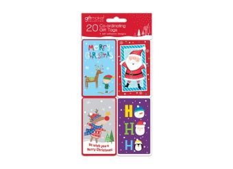 Novelty Kids Coordinating Christmas Gift Tags