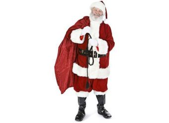 Santa with Sack Cardboard Cutout - 1.8m