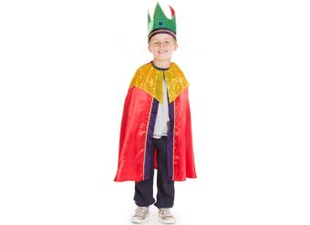 Red Nativity King - Child Costume