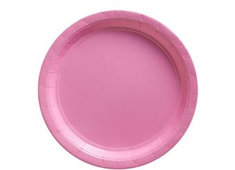 Baby Pink Plates - 23cm Paper Party Plates