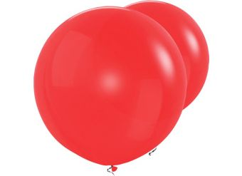 """Red Giant Balloons - 36"""" Latex"""
