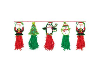Holiday Tissue Garland - 2.4m