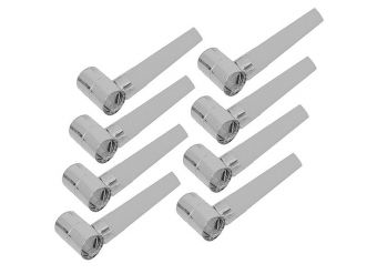 Silver Foil Party Blowers