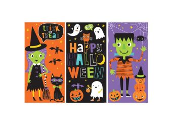 Halloween Friends Large Scene Setter Kit
