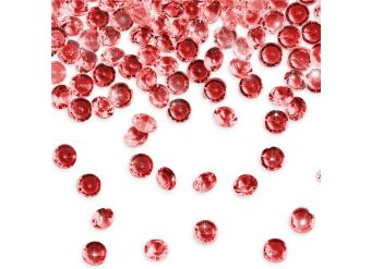Ruby Red Table Diamantes