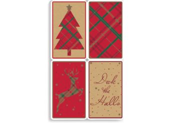 Contemporary/Traditional Christmas Gift Tags