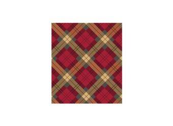 Traditional Christmas Gift Wrapping Paper - 5m