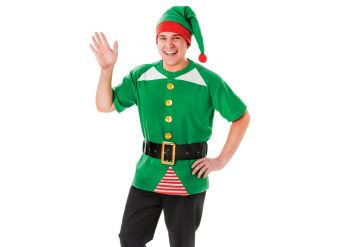 Jolly Elf Kit - Adult Costume