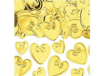 Gold Loving Hearts Table/Invite Confetti - 14g