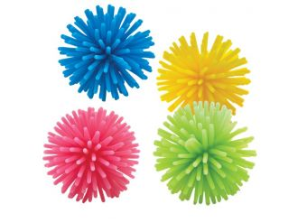 Bright Coloured Wooly Balls