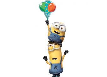 Minions Stacker Foil Balloons - 75""