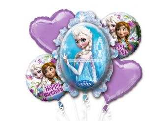 Disney Frozen Balloon Bouquet - Assorted Foil