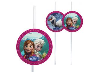 Disney Frozen Drinking Straws