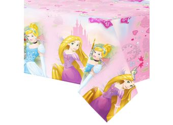 Disney Princess Plastic Tablecover - 1.2m x 1.8m