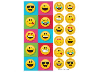 Emoji Value Stickers - 4 Sheets
