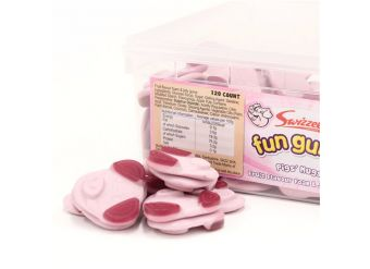 Swizzels Fun Gums Pig's Mugs Tub