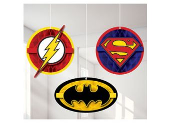 Justice League Hanging Cut Out Decoration