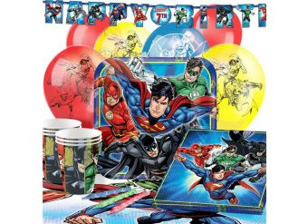 Justice League  Party Pack - Deluxe Pack for 16