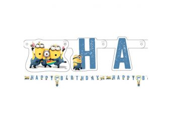 Minions Letter Banner