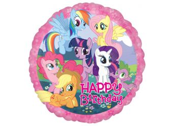 "My Little Pony Happy Birthday Balloon - 18"" Foil"