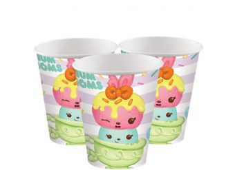 Num Noms Paper Party Cups - 266ml