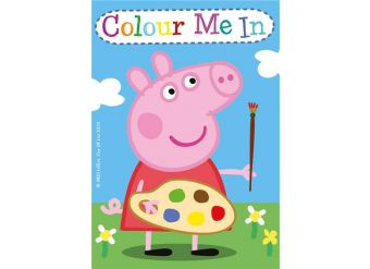 Peppa Pig Mini Colouring Books