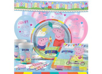 Peppa Pig Party Pack - Deluxe Pack for 16