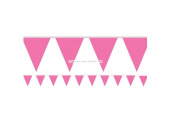 Pink Paper Bunting - 4.5m