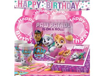 Pink Paw Patrol Party Pack - Deluxe Pack for 16