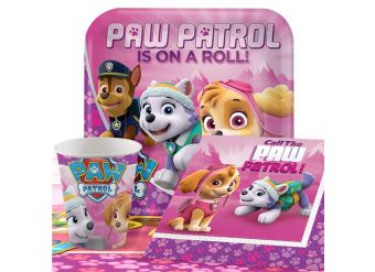 Pink Paw Patrol Party Pack - Value Pack for 8