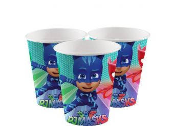 PJ Masks Paper Cups - 180ml