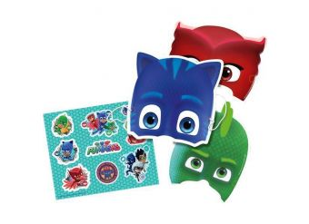 PJ Masks Stickers and Masks