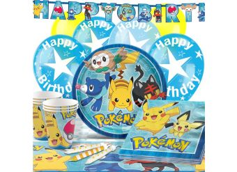 Pokemon Party Pack - Deluxe Pack for 16