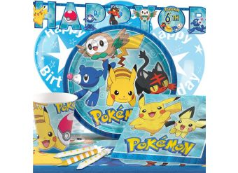 Pokemon Party Pack - Deluxe Pack for 8