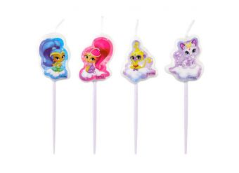 Shimmer & Shine Mini Figure Pick Candles