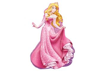"Disney Sleeping Beauty Supershape Balloon - 34"" Foil"
