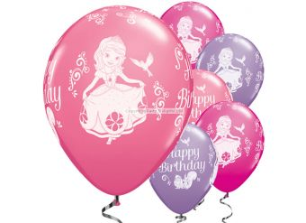 Sofia The First Balloons - 11'' Latex