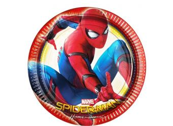 Spider-Man Homecoming - Paper Party Plates