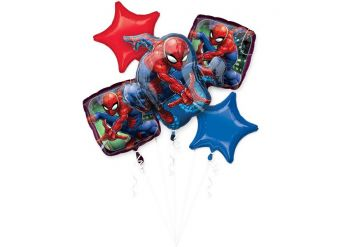 Spider-Man Bouquet Foil Balloons (each)
