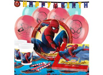 Spider-Man Party Pack - Deluxe Pack for 16