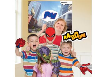 Spider-Man Photo Booth Kit (12pk)