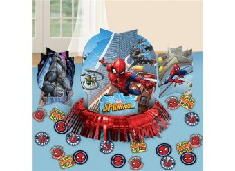Spider-Man Table Decorations
