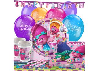 Trolls Party Pack - Deluxe Pack for 16