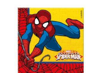 Ultimate Spider-Man Napkins - 2ply Paper
